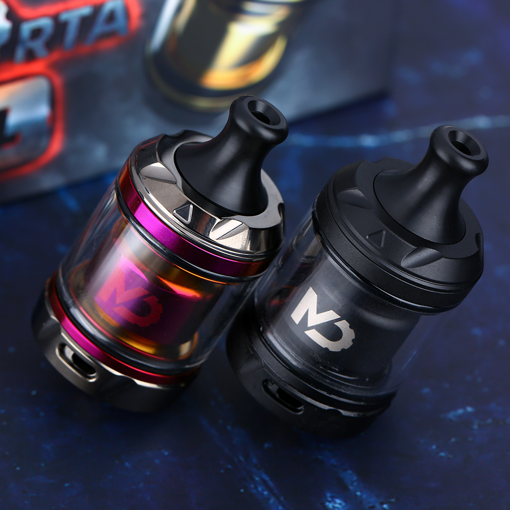 Original Hellvape MD RTA 2ml/4ml Capacity Innovative Turntable Swap For MTL And DTL Air Flow 24mm RTA VS ZEUS X/ Dead Rabbit RTA