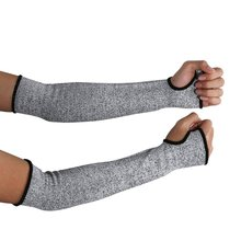 1pair Anti-Cut Gloves Arm Guard Wear-Resistant Work Manufacture Protective Nylon Sleeves