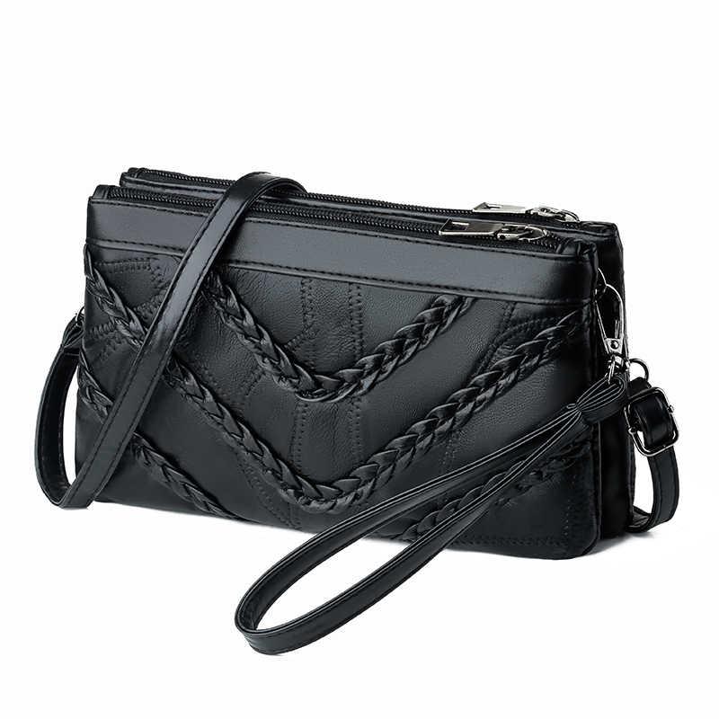 حقائب النساء الإناث أكياس جلد طبيعي للسيدات حقائب صغيرة Crossbody مصمم حقيبة يد حقيبة صغيرة حقيبة كتف جديد