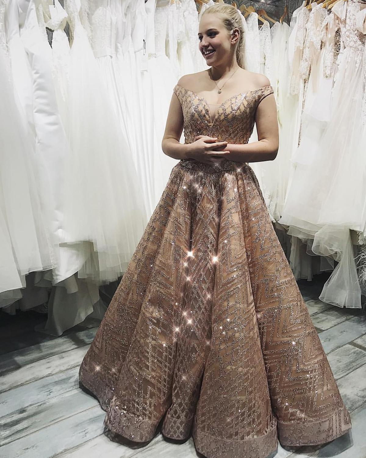 Vestidos De Gala Luxury Prom Dress 2020 Ball Gown Tulle Sequins Robe De Soiree Dubai Arabia Evening Gown Prom Dresses Aliexpress