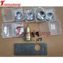 5 conjunto 0am dq200 dsg caixa de velocidades transmissão valvebody acumulador habitação ferramenta reparo + melhorado placa aço para audi vw