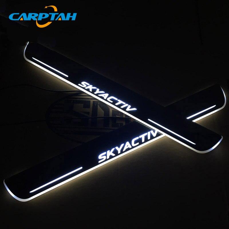 CARPTAH Trim Pedal Car External Parts светодиодный светильник, для Mazda 6 Skyactiv 2013   2018|Буксиры и подвесные подножки|   | АлиЭкспресс