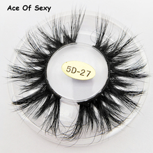 AceOfSexy 3D Mink Lash 100% Cruelty Free Lashes Cilios Dramatic Reusable Natural Eyelashes Popular Fake Lashes Makeup