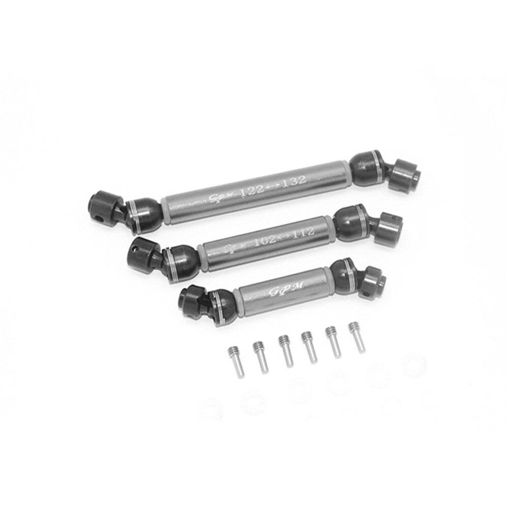 6x6 88096-4 rc carro atualizar peças eixo de acionamento de metal