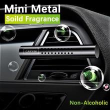 Tragbare Sicher Diffusor Lufterfrischer Mini Natürliche Auto Outlet Hause Clip Montieren Deodorant Lange Anhaltende Auto Duft Feste Parfüm
