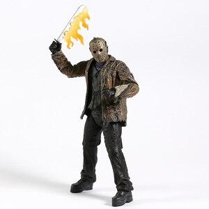 Image 5 - NECA Freddy vs. Jason Jason Voorhees PVC Action Figure Sammeln Modell Spielzeug 18cm