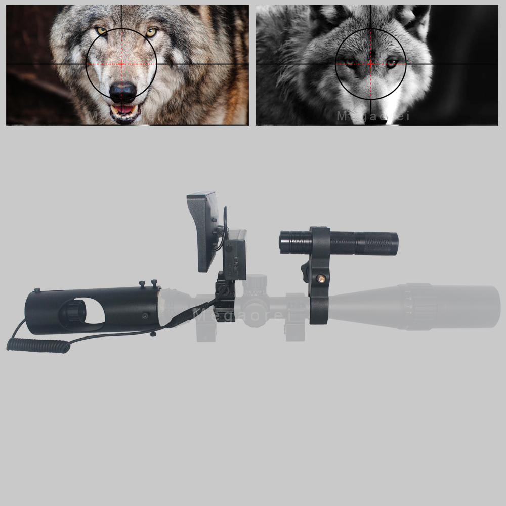 2020 New Upgrade Outdoor Hunting Optics Sight Tactical Digital Infrared Night Vision Riflescope Use In Day And Night