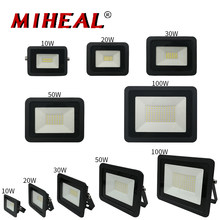 110V/220V LED Industrial iluminación 10W 20W 30W 40W 50W bodega de taller y fábrica de luz de trabajo del reflector IP68 LED campana montaje alto lámpara
