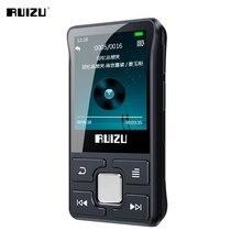 Оригинальный Bluetooth MP3-плеер RUIZU X55, портативный спортивный мини-музыкальный плеер с клипсой, поддержка FM, запись, электронная книга, видео, шаг...