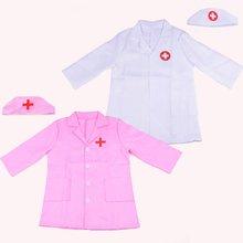 Доктор костюм медсестры для косплей детей Девочка Мальчик маскарад