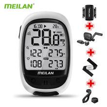 Meilan m2 беспроводной Велосипедный измеритель скорости bluetooth