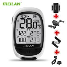 Cadence Sensor Bicycle Speedometer Computer Odometer-Speed Gps Bike Heart-Rate Meilan M2