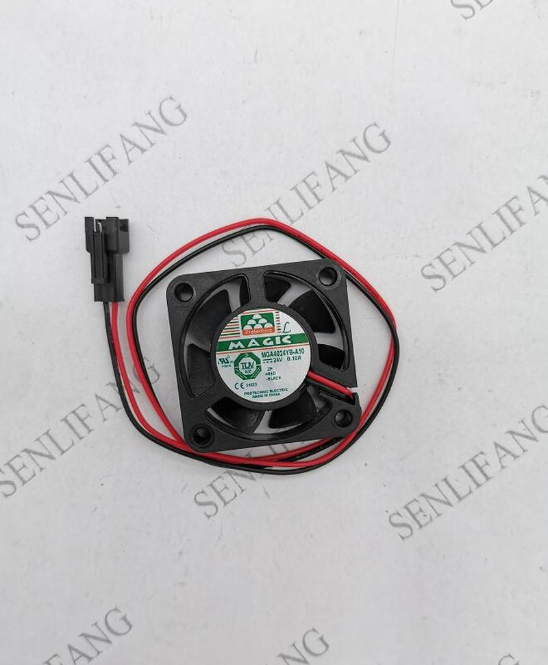 MGA4024YB-A10 4cm40*40*10 24V0.10A Two Wire Converter Cooling Fan