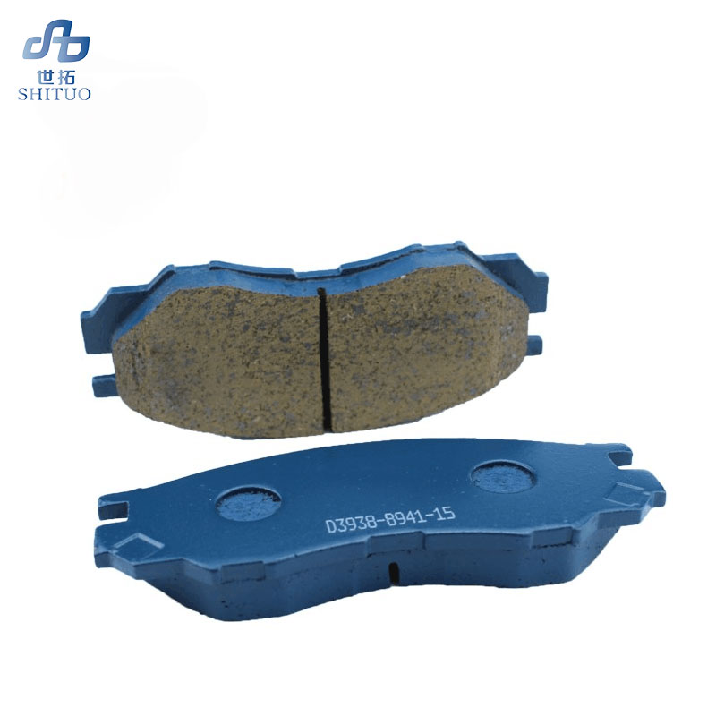 Automatic replacement parts brake system pad brake shoes 4 pieces set 04465 YZZ51 front rear brake pads in Brake Disks from Automobiles Motorcycles