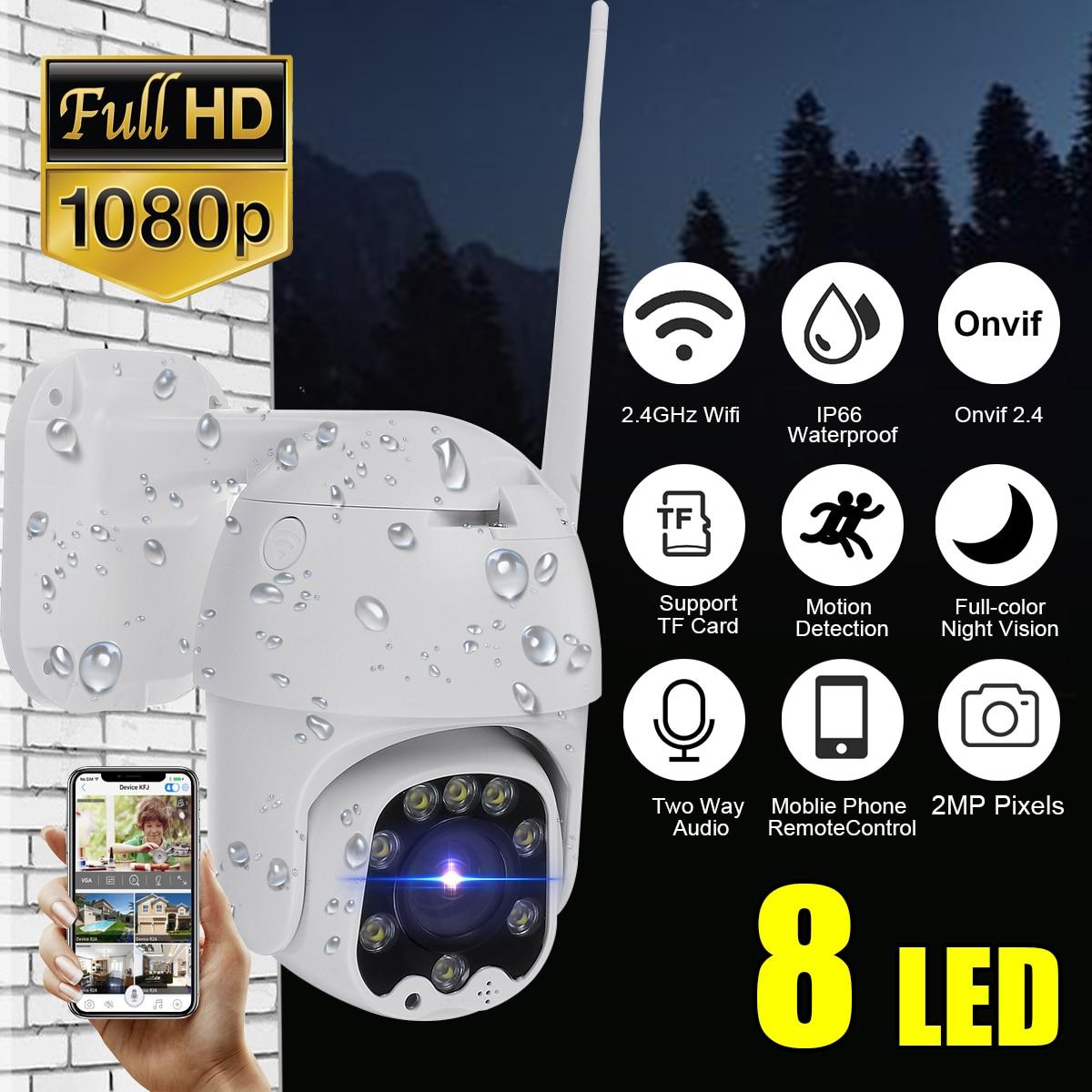 20X Zoom étanche WiFi panoramique/inclinaison 1080P HD IP caméra IR couleur Vision nocturne caméra de Surveillance PTZ caméra sans fil