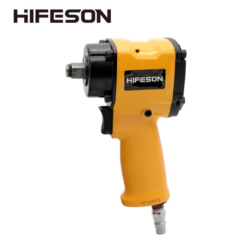 Hifeson 1/2 di Alta Qualità Mini Pneumatico Impact Wrench Riparazione Auto Impact Wrench Strumenti di Auto Chiavi 7500 Rpm
