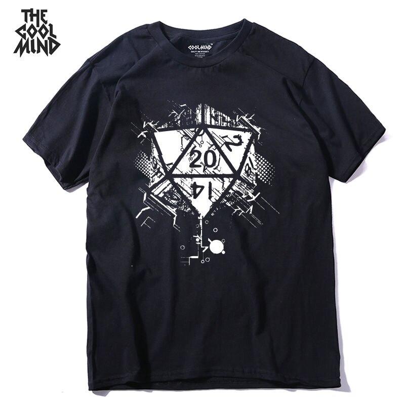 COOLMIND QI0227A 100% Cotton Cool Men Tshirt Casual Short Sleeve O-neck Mens T-shirt Suumer Loose T Shirt Tees Shirt