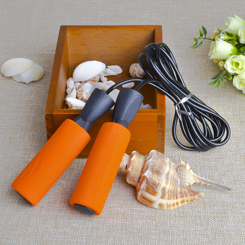 Only Jump Rope Profession Game Bearing School Sports Sponge Fitness Sports Will Adult Children Men And Women Jump Rope