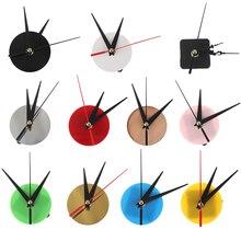 1 PCS DIY Silent Quartz Watch Round Wall Clock Movement Mechanism Parts Repair Replacement Need Tools Home Decor