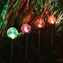 4 Pcs/Lot Solar LED Light Bulb Lawn Garden Light Waterproof Solar Powered Landscape Lamp for Outdoor Camping Garden Night Lights