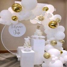 80pcs לבן בלוני 5 אינץ 10 אינץ 12 אינץ 36 אינץ גדול בלון חתונת קישוט בלון בלאן מסיבת יום הולדת דקו הליום Baloon XN