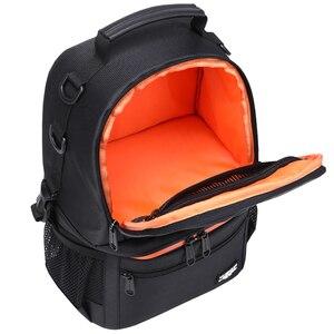 Image 3 - Водонепроницаемый рюкзак для DSLR камеры, рюкзак с отражающей полосой, чехол для переноски штатива для мужчин и женщин, уличные дорожные сумки для фотографии