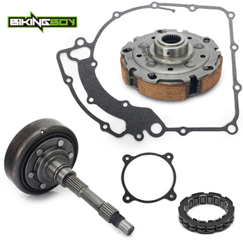 BIKINGBOY Clutch Housing Cover + Clutch Pad Carrier + Bearing + Gasket For CFMoto CF 800 HL 800CC UForce ZForce CForce X8 Z8 U8