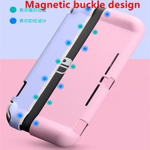 Nintend Switch Lite 2019 Magnetic Buckle Spray Shell Handheld Grip Case Protective Back Cover For Nintendo Switch Lite Console
