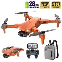 طائرة بدون طيار L900 Pro 5G GPS 4K مع كاميرا عالية الدقة FPV ، وقت طيران 28 دقيقة ، محرك بدون فرش ، مسافة 1.2 كجم ، طائرات بدون طيار احترافية