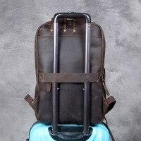 Modern Vintage Leather Backpack 2