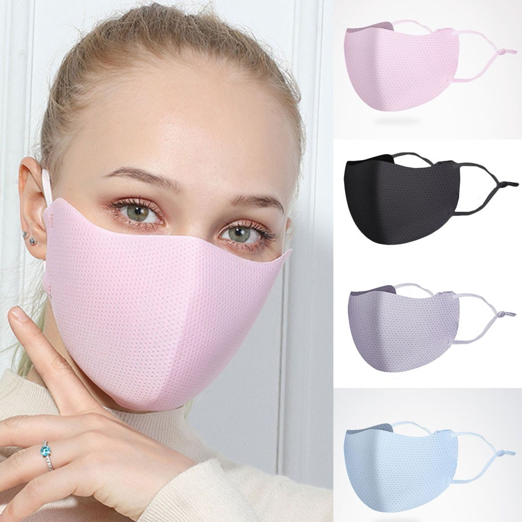 New PM2.5 Outdoor Mouth Mask Washable Reuse Face Mask Protection Mask Shield Wind Proof Mouth Cover Unisex Sponge Face Mask