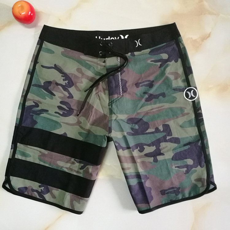 2019 Hot Sales/Camouflage Korean-style Fitness Europe And America Quick-Dry Seaside Surfing/Sports Large Size Trunks Shorts