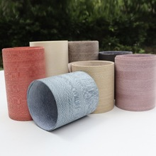 4pcs/lot L:2.5Meters  Width:16-18cm  Thickness:0.25mm Natural Dyed  Wood Veneer Dyed Skin