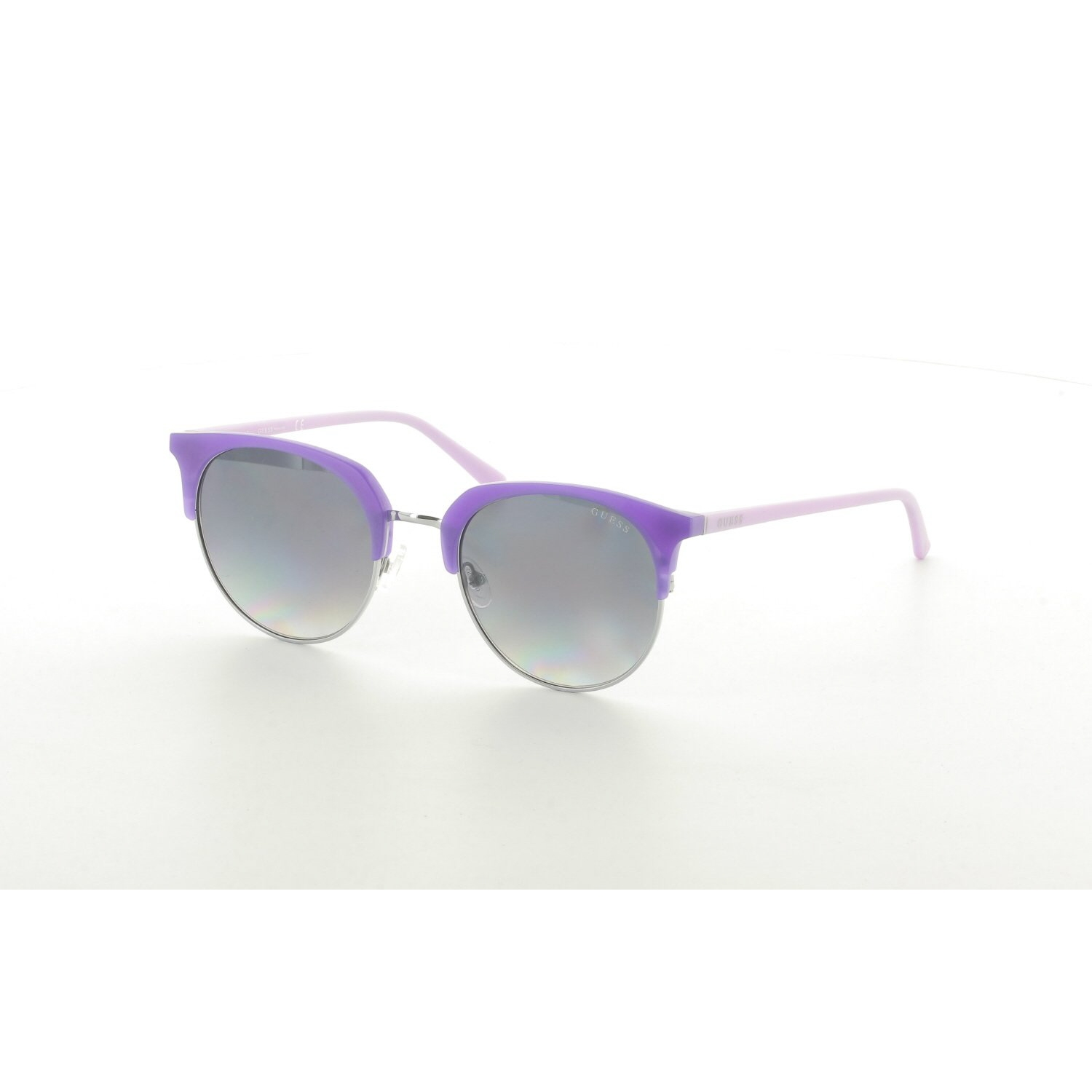 Women's sunglasses gu 3026 82b clubmaster purple organic oval aval 52-22-140 guess