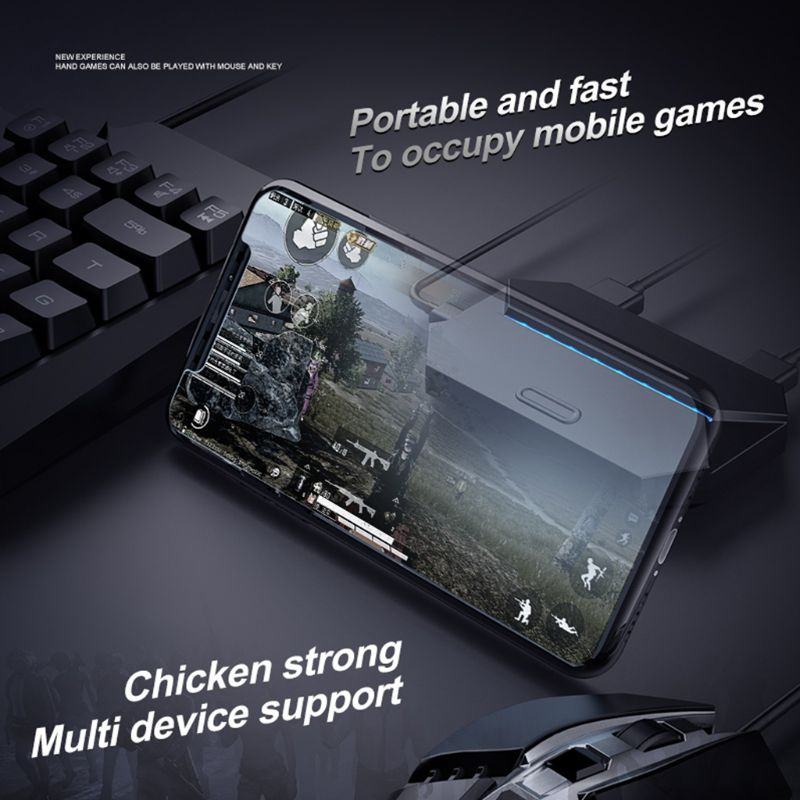 G6 Keyboard Mouse Adapter USB Extender Gamepad Controller Mice Converter for iPhone An-droid Mobile Phone Games Accessories