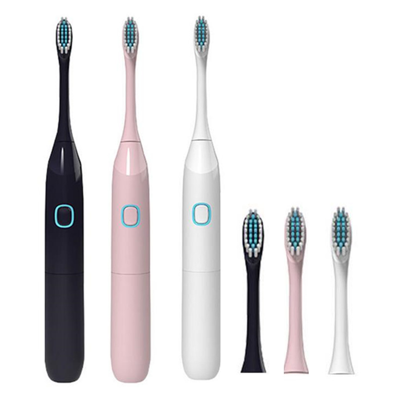 Electric Toothbrush Kids Adult Battery Operated With 2 Brush Heads Health Products Electric Tooth Brush 20#814