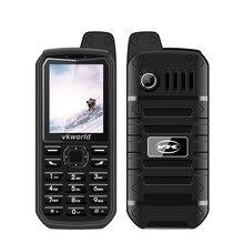Vkworld nova pedra v3 plus telefone móvel 2g gsm duplo sim telefones 3000mah longa espera 2.4 polegada ip54 impermeável dustproof celular