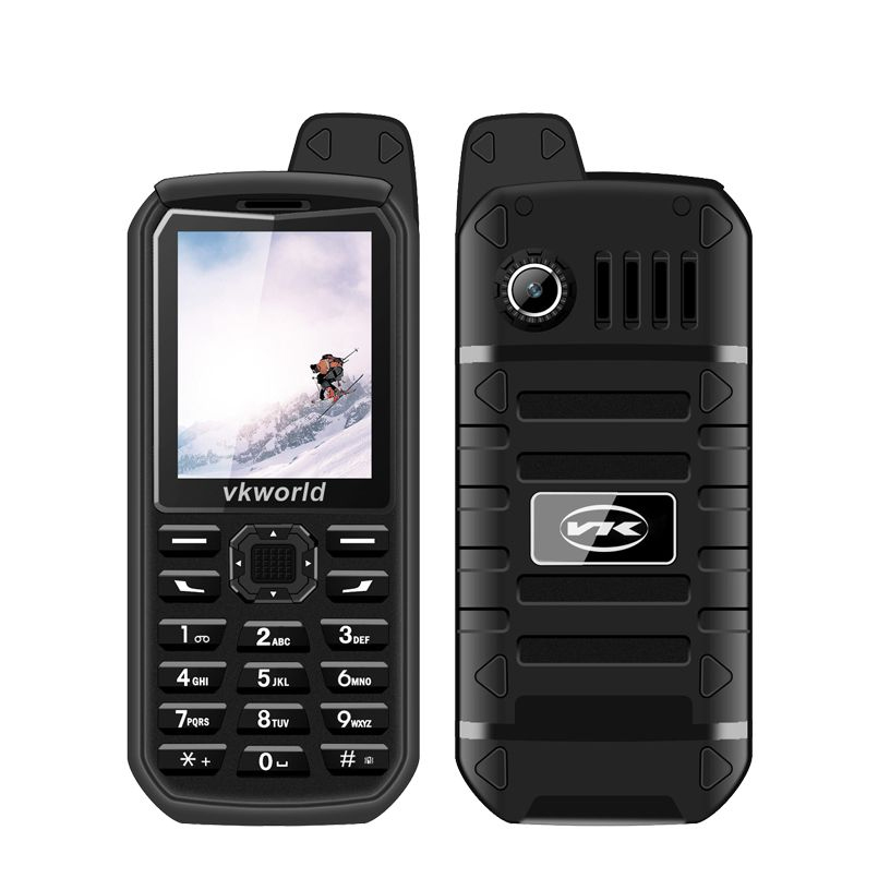 Vkworld новый камень V3 плюс мобильный телефон 2 г/м² Dual SIM телефонов 3000 мАч длительным временем ожидания 2.4 дюйма IP54 водонепроницаемый пыле телефон