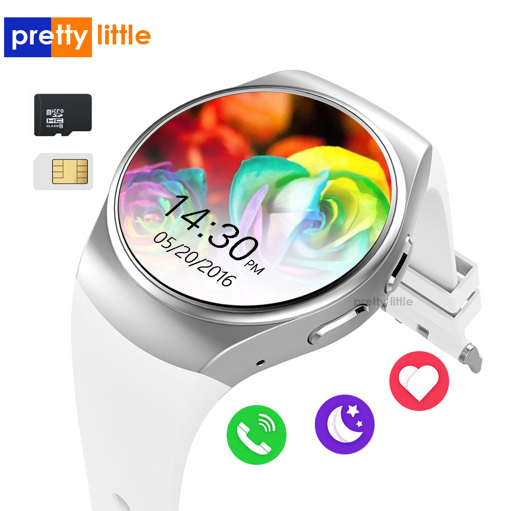 KW18 Smart Watch Men Women Bluetooth Watch Phone Sim Card Full Touch <font><b>Screen</b></font> <font><b>Smartwatch</b></font> Compatible with Android IOS Phone image
