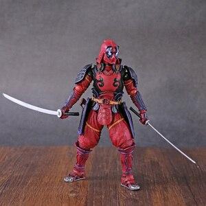 X-men Kabukimono Deadpool pcv figurka-Model kolekcjonerski Toy