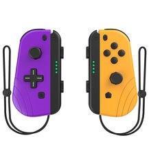 Yeni oyun anahtarı kablosuz denetleyici sol ve sağ için Bluetooth Gamepad nintendo anahtarı NS Joy oyun Con kolu kavrama anahtarı