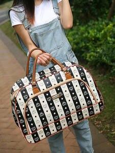 Duffle-Bag Handbag Luggage Travel-Bags Weekend Overnight Large-Capacity Women