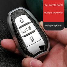 جديد لينة حافظة مفاتيح السيارة من البولي يوريثان غطاء كامل لبيجو 308 408 508 2008 3008 4008 5008 سيتروين C4 C4L C6 C3-XR الذكية شل اكسسوارات