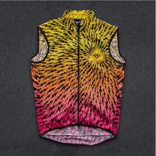 TWIN SIX 2019 winddicht wasser abweisend cyclisme maillot sans manches hommes léger coupe-vent respirant maille Cycle gilet ciclismo