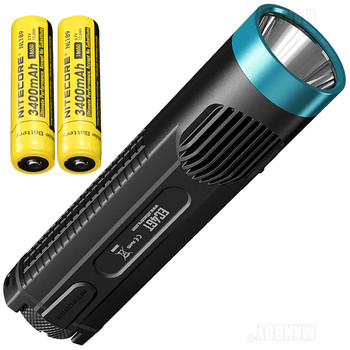 new NITECORE 1000LM Emitter Flashlight Torch Lamp Light EC4GT:Blue LIMITED EDITION Handy Portable Diver+2*NL189+FREE SHIPPING