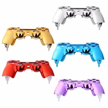 цена на Replacement Plating Front Housing Shell Case Cover For PlayStation DualShock 4 PS4 Controller
