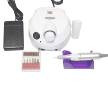 35000RPM electric nail drill machine accessories pedicure set boring tool