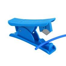 Cortador de tubo ptfe mini lâmina de cortador de tubulação portátil para peças de impressora 3d tubo ferramentas de corte do plutônio do pvc de náilon
