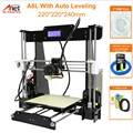 Hot Selling Anet A8 3D Printer Print Maat 220*220*240mm Offline Afdrukken Cura DIY Kit Met 8GB Micro SD Kaartlezer USB