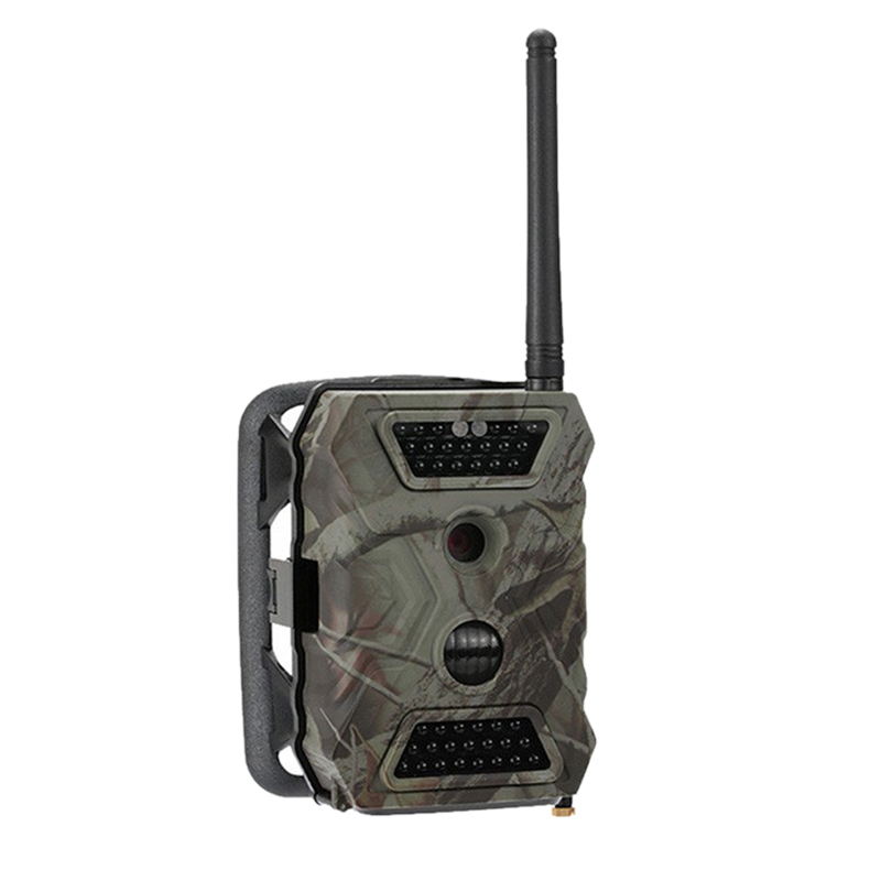 Trail Game Camera, S680M <font><b>2.0</b></font> Inch <font><b>Lcd</b></font> 12Mp Hd1080P 940Nm Night-Vision Hunting Camera with Mms Gprs Smtp Ftp Gsm Wildlife Camera image